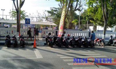Wilayah parkir berlangganan Jalan Wijaya Kusuma yang menjadi lokasi pungutan liar. (zyn)