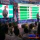 Korwil VI Koordinasi, Supervisi, dan Pencegahan KPK RI Asep Rahmat Suwan saat mengumumkan ranking MCP di Grahadi Surabaya. (Humas Pemkab Sampang)