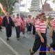 Peserta JJS saat melintas di Jalan Wijaya Kusuma. (zyn)