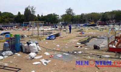 Lapangan Wijaya Kusuma Rusak, Suporter Persesa Minta Segera Diperbaiki