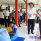 Bupati Sampang H Slamet Junaidi saat melakukan kunjungan ke Rutan kelas II B Sampang, (20/11/2019). (zyn)
