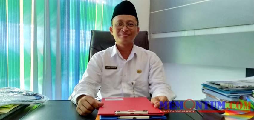 Plt Kepala Dinas Kesehatan Kabupaten Sampang Agus Mulyadi. (zyn)